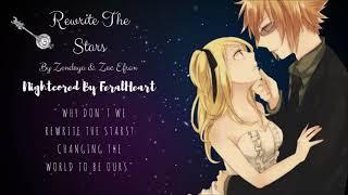 Video Rewrite The Stars ~ Nightcore MP3, 3GP, MP4, WEBM, AVI, FLV Juli 2018