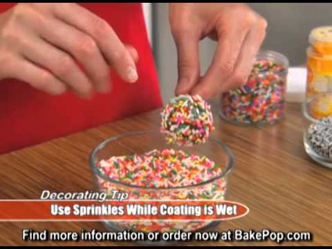 ASOTV 12 holes Bake Delicious Cake Pops Baking Pan!