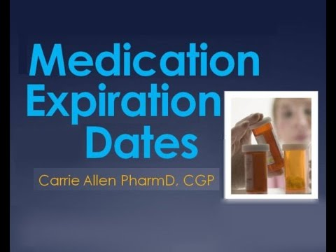 Everything You Need to Know about Medication Expiration Dates