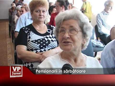 Pensionarii în sărbătoare