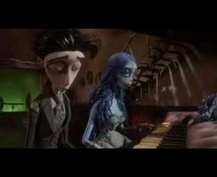 duet - One of my very favorite parts from the movie Corpse Bride: the piano duet.