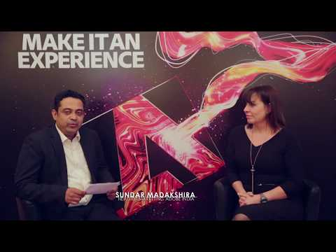 Sunder Madakshira interviews Mickey Mericle at the Adobe Symposium, 5th May 2017