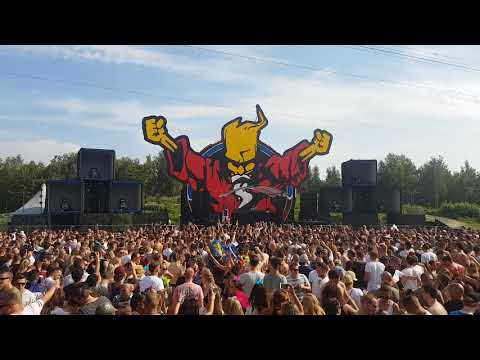 Miss K8 @ The Thunderdome stage @ Mysteryland 2017