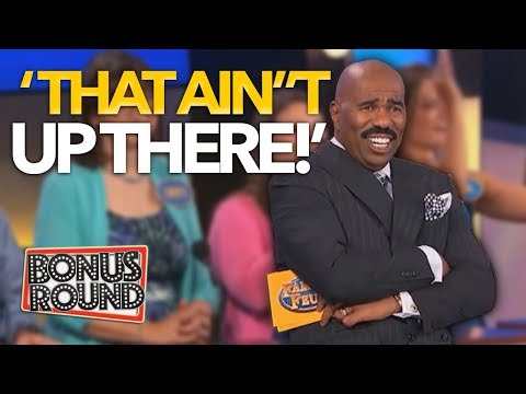 5 UNEXPECTED FAMILY FEUD ANSWERS That WERE On The Board! Steve Harvey Can't Believe It! Bonus Round - Thời lượng: 5 phút, 38 giây.