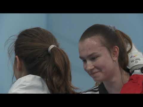 Анна Казарновская выиграла бронзу первенства мира по тхэквондо