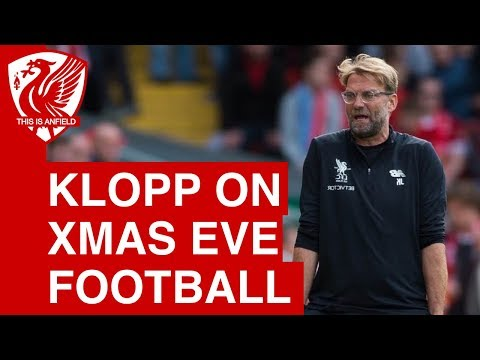 "Jurgen Klopp On Arsenal Vs. Liverpool Moving To Christmas Eve: ""It's Not A Normal Time!"""