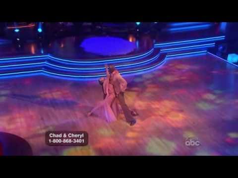 Chad Ochocinco and Cheryl Burke - DWTS - Rumba