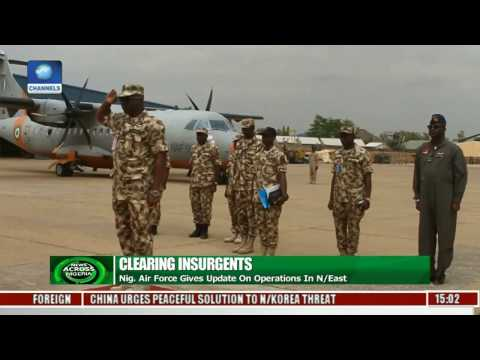 Nigerian Air Force Gives Update On Operations In North East