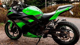 7. Kawasaki  Ninja 300 Honest Review