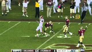Landry Jones vs FSU (2011)