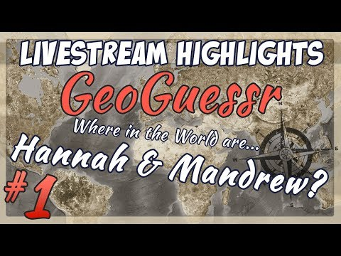 Part 1 - Highlights taken from a very long Geoguessr session on the livestream! Mandrew's turn is out tomorrow! (Sound might be a little bit out in parts, trying to f...