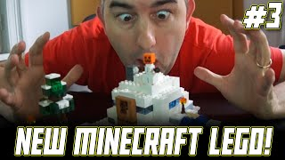 LEGO Minecraft Snow Hideout 21120 Time Lapse Build and Q&A!!!