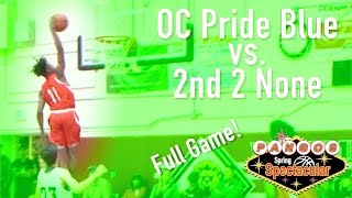 OC Pride Blue vs. 2nd 2 None at the Pangos Spring Spectacular