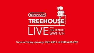 Nintendo Treehouse Live with Nintendo Switch