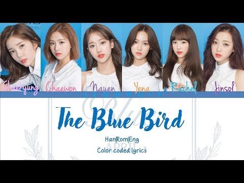 APRIL(에이프릴) - The Blue Bird [Color coded Lyrics] Han|Rom|Eng (видео)
