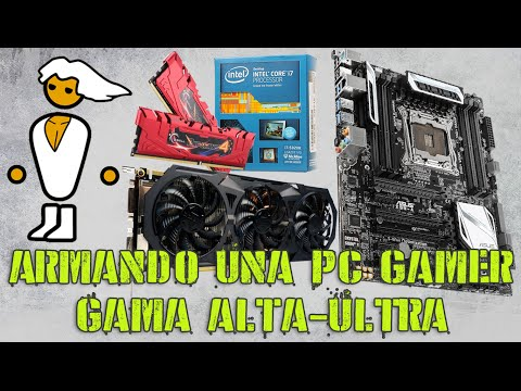 Armando y Probando una PC Gamer Gama Alta / Ultra (i7 5820K / GTX 980) (Español)