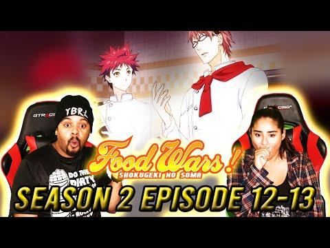 The Finale! Food Wars Reaction Season 2 Episode 12 13