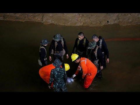 Αγωνιώδεις έρευνες για τον εντοπισμό εφήβων εγκλωβισμένων σε σπηλιά…