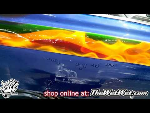 ULTIMATE TRICK How to Color Sand & Cut A LARGE Run from Clearcoat on SNOOP DOGG 1976 Cadillac …