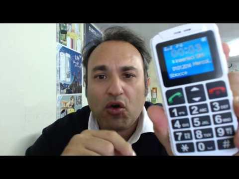 Telefono tasti grandi, Tasto SOS, per Anziani e Bambini