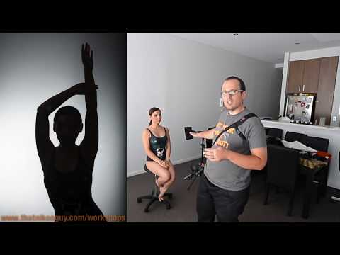 LIVE Photoshoot - DIY Studio Silhouettes