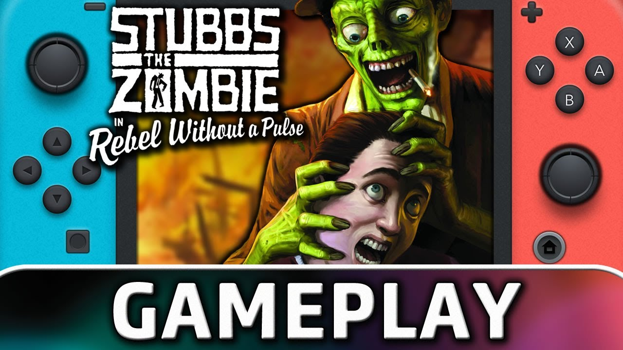 Stubbs the Zombie in Rebel Without a Pulse | Nintendo Switch Gameplay