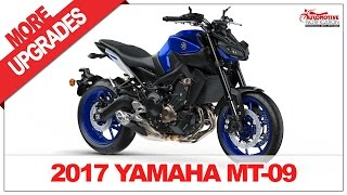 8. 2017 Yamaha MT 09 Price Specification Review