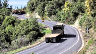 Wairoa New Zealand  city photos : Trucks on Napier-Wairoa Road New Zealand