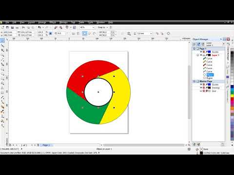 How To Design Logo Google Chrome : CorelDraw Tutorial