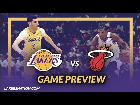 Video: Lakers Nation: Los Angeles Lakers vs Miami Heat Game Day Preview - Game 16