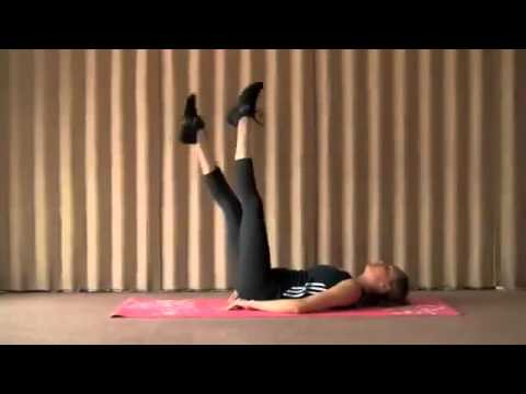 5 Minutes Lower Ab Workout For Women : How To Lose Belly Pooch Fast