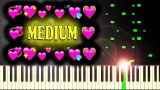 YOU SO F**KIN' PRECIOUS WHEN YOU SMILE (BAZZI - MINE - Piano Tutorial)