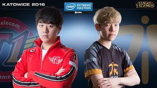 League of Legends - SKT vs. FNC - IEM Katowice 2016 - Grand Final Map 1
