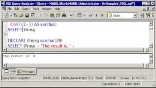 T-SQL: Using CAST &CONVERT - Using STR - SQL Server Tutorial
