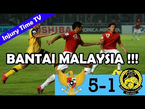 Indonesia 5-1 Malaysia | AFF Cup 2010 | All Goals & Highlights