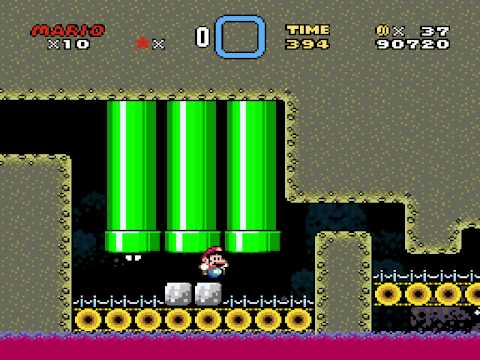 Kaizo Mario World 2 TAS in 19:26.47