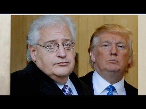 Ο ακραίος Ντέιβιντ Φρίντμαν νέος πρέσβης των ΗΠΑ στο Ισραήλ