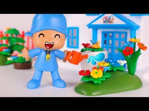 Pocoyo Toys in English  Pocoyo is a gardener