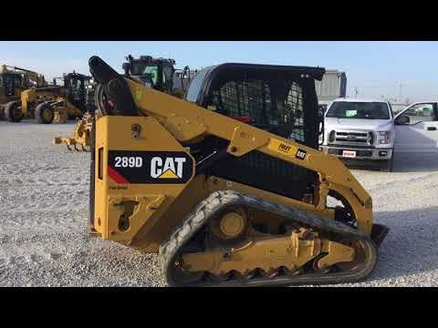 CATERPILLAR CHARGEURS COMPACTS RIGIDES 289DSTD2CA equipment video qaxmWRwEUvI