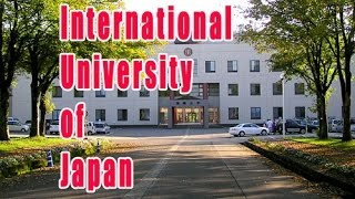Minami-Uonuma Japan  City new picture : International University of Japan private university located in Minami-Uonuma city