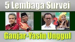 Video 5 Lembaga Survei Ganjar Taj Yasin Unggul Elektabilitas di Pilgub Jateng 2018 MP3, 3GP, MP4, WEBM, AVI, FLV Mei 2018