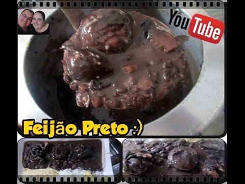 Feijão preto delicioso