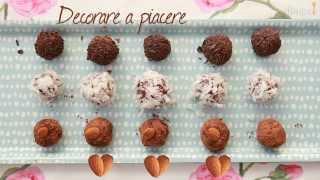 Videoricetta: tartufi al cioccolato