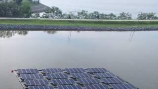Energia solar flutuante em Singapura