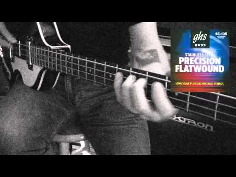 Precision Flatwound Bass Strings