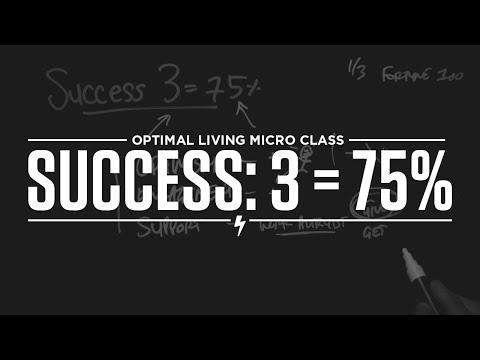 Success: 3 = 75%