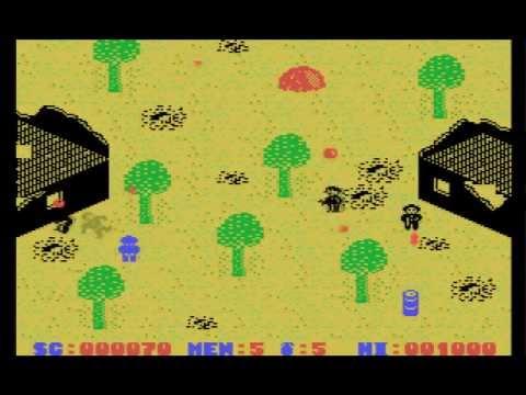 Who Dares Wins II (1986, MSX, Alligata)