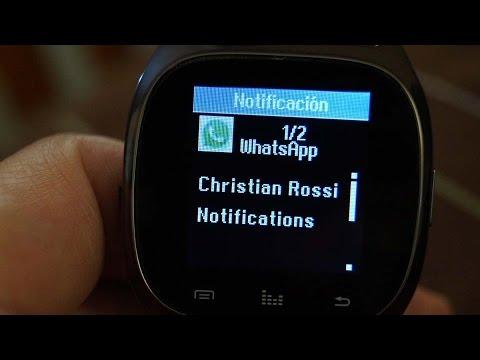 Análisis a fondo del Smartwatch RWATCH M26 (Español) Canal 101