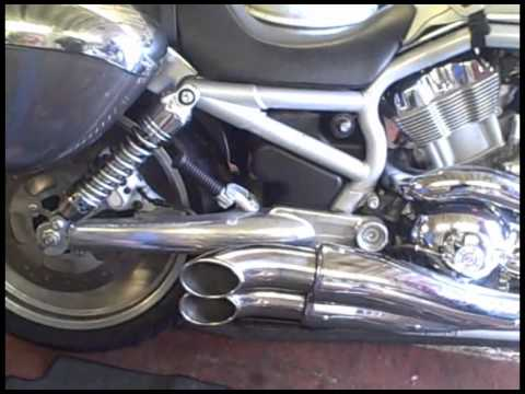 Want a set of loud pipes for your Harley V-Rod for less than £150?