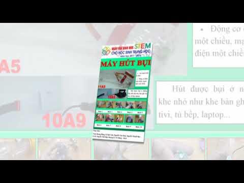 30 Sản phẩm trong Ngày Hội Giáo dục STEM 2018 của học sinh trường THCS & THPT Hoa Sen